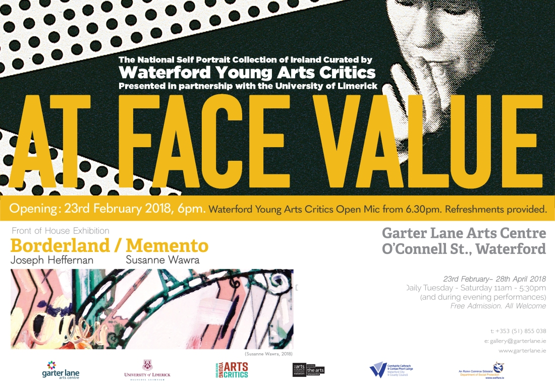 At Face Value & Borderland Memento Evite