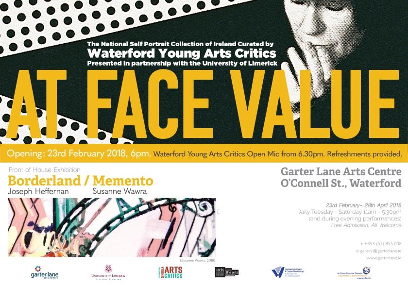 At Face Value & Borderland Memento Evite